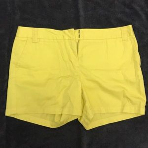 J. Crew City Fit Chino Shorts